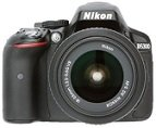 Nikon D5300 24.2MP Digital SLR Camera Rs.3,210 with out credit card and bajaj finance emi card
