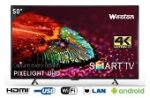 Weston WEL-5101 127 cm (50) Smart Ultra HD (4K) LED Television Rs.1,853 with out credit card and bajaj finance emi card